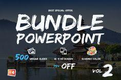 Bundle Powerpoint Vol.02 by DesignCorner on @creativework247