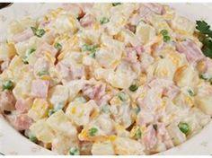 Ranch Potato Salad with Ham