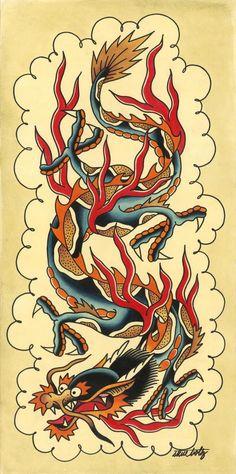 Steve Boltz - Dragon Print 2007
