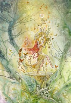 Stephanie Pui-Mun Law - Shadowscapes One of my favourite artists!