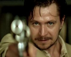 """Agent Norman Stansfield played by Gary Oldman in """"Leon: The Professional"""" (1994)."""