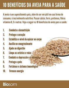Clique na imagem e veja os 10 benefícios da aveia para a saúde…