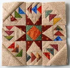 Scrapbox Quilts, love this block, might be able to figure it out from this photo
