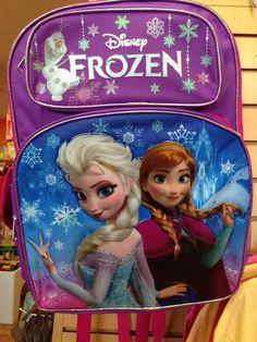 Frozen backpack!