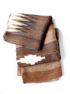 Bolivian Frasada Wool Rug/Blanket #4 | MILLE