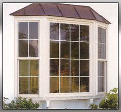 Cantilevered Bay Windows Are Nice Too Bedroom Window Replacement And Doors