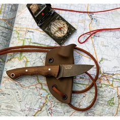 """Sierra Hiker in 154cm and brown canvas Micarta. #knife #knives #usnfollow #usnstagram #bushcraft #hiking #camping #sierra #everydaycarry #tactical…"""