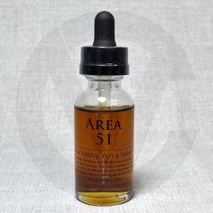 Area 51 Tobacco E-Liquid | Coval Distribution