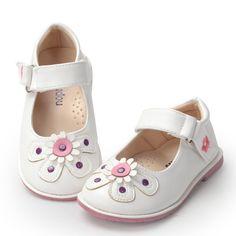 Online Shop Kids Shoes 2016 Spring Summer Girls PU Leather Shoes Fashion Princess  Flat Shoes Flowers Elegant Party Dance Girls Dress Shoes e98031238cdc
