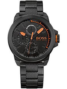 BOSS Orange Herren-Armbanduhr NEW YORK Multi Analog Quarz Edelstahl beschichtet 1513157 - http://geschirrkaufen.online/boss/boss-orange-herren-armbanduhr-new-york-multi-2