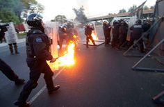 Video, fotos: Disturbios en México en el día de la investidura del presidente Peña Nieto – RT