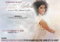 Denise Matthews Memorial Service Info http://www.thelastdragontribute.com/video-memorial-denise-matthews-vanity/ #DeniseMatthews #Vanity6 #RIPDeniseMatthews