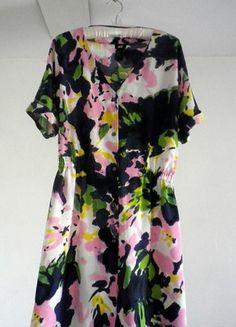 Kup mój przedmiot na #vintedpl http://www.vinted.pl/damska-odziez/krotkie-sukienki/10329865-kolorowa-rozpinana-sukienka-hm