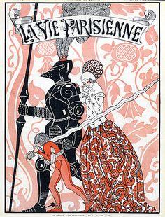 George Barbier (1882 – 1932). La Vie Parisienne, 1913. [Pinned 2-vi-2015]
