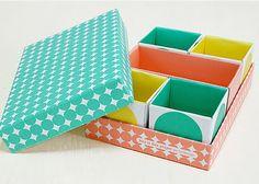 Inspiration for DIY  Heart Handmade UK: Korean Stationery Love | Desk Top DIY Storage Boxes