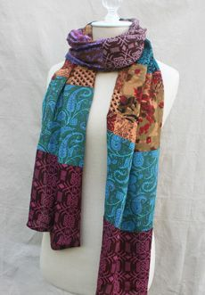 "Trades of Hope - These beautiful scarves are made by young women who are being empowered to be self-reliant.  In India, so many girls get trapped into the sex trade because they are taught they have no value.  Fair Trade is helping to change that conservative mindset. A purchase of these scarves brings hope to their villages. 18x70"" www.mytradesofhope.com/jrstarr"