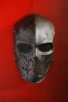Army of Two mask Paintball Mask, Airsoft Mask, Army Of Two, Tactical Helmet, Cool Masks, Arte Horror, Masks Art, Body Armor, Headgear