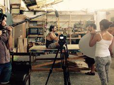 Nos entrevistaron en nuestra clase de Carpintería, el material es parte de un Documental que próximamente estará disponible.  Gracias a todo el equipo!  El Taller de Carpintería para Mujeres es lo máximo :)