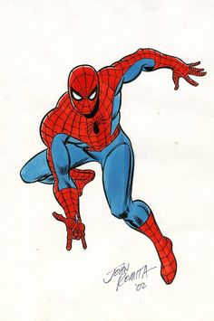 Spider-Man by John Romita Sr.