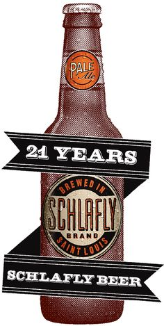 Schlafly Beer is proud to be St.Louis' largest locally owned independent brewery. Each year, they brew about 50 unique styles of fresh beer, roughly half of which is bottled & half of which are exclusively available on draft at their 2 brewery-restaurants. The Schlafly Tap Room in Downtown St. Louis first opened its doors in 1991 & holds the distinction of being the 1st new brewpub to open in Missouri since Prohibition.