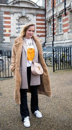 London Fashion Week | Street Style - Street Style - Vogue Portugal por Cláudia Rocha :)