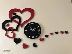 Checkout this latest Wall Clocks Product Name: *Essential Wall Clocks* Material: Acrylic Pack: Pack of 1 Country of Origin: India Easy Returns Available In Case Of Any Issue   Catalog Rating: ★4 (777)  Catalog Name: Graceful Wall Clocks CatalogID_5730296 C127-SC1440 Code: 593-25515253-9991