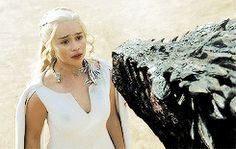 Drogon & Daenerys Targaryen  - The Dance Of Dragons - Season 5 Episode 9