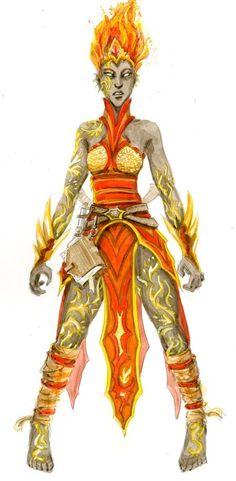 Fire Genasi-Shaad