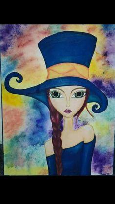 Anna Concept Art, Illustrations, Illustration Art, African Art Paintings, Hippie Art, Art Journal Inspiration, Mail Art, Whimsical Art, Female Art