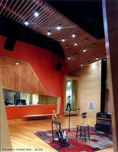 Shady Records recording studio.