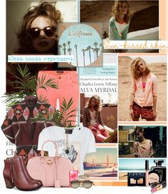 """""""California Is Where I'm From"""" by edenslove on Polyvore"""