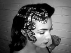 Beautiful head piece co-designed by Eudia, Royal Variety Performance, November 25th 2013