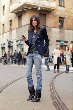 Emmanuelle Alt, love the boots
