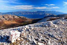Baška hiking trails, Krk island Croatia