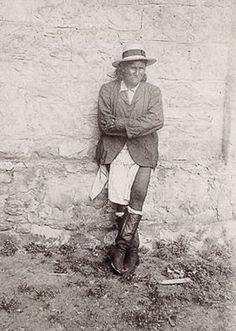 Geronomo, Ft Sam Houston Texas, 1886