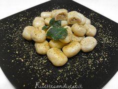 Gnocchi ripieni ai pistacchi con burro e salvia di Roberta Vivenzi