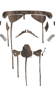 Stormtrooper Art Watercolor