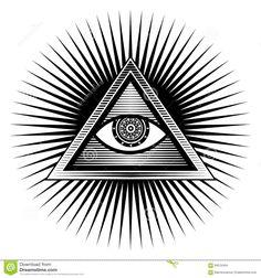 """Résultat de recherche d'images pour """"oeil dans  triangle"""""""