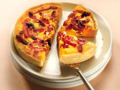 Tarte au potiron, oignons, lardons Quiches, Bruschetta, I Foods, Vegetable Pizza, French Toast, Brunch, Food And Drink, Menu, Diet