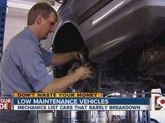 John Matarese reports on cars that dont need much service.