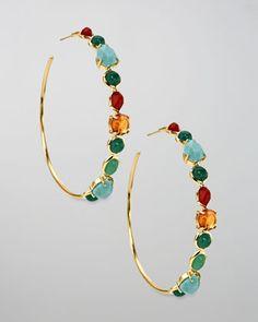 Ippolita hoop earrings