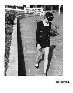 stella tennant, the iconic chanel girl