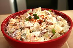 A Lazy Girl's Guide to Living Gluten Free: Loaded Baked Potato Salad