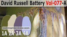 77A David Russell Battery A-Palette (4 Premo Color Recipes)