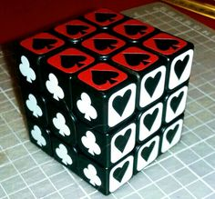 Cubo pintas cartas Cube Pattern, Cube Puzzle, Rubik's Cube, Dice, Puzzles, Turning, Death, Cubes, Pints