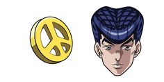 The main character of Diamond is Unbreakable Josuke Higashikata and his Peace chest pin from the JoJo's Bizarre Adventure anime series. Jojo Jojo, Yandex, Jojo's Bizarre Adventure Anime, Chrome Web, Jojo Bizarre, Main Character, Peace, Diamond, Diamonds