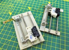 Mini CNC Laser Wood Engraver and Laser Paper Cutter. : 18 Steps (with Pictures) - Instructables Arduino Cnc, Diy Cnc Router, Cnc Woodworking, Diy Lathe, Arduino Programming, Router Wood, Cnc Projects, Old Computers, Robot Design