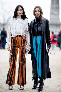 Loud Pants - 60 Outfit Ideas From Paris Fashion Week's Street Style - Photos