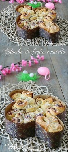 Nutella, Happy Easter, French Toast, Muffin, Sweet Home, Food And Drink, Pudding, Favorite Recipes, Dinner
