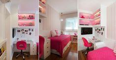 Fotos: Nichos, caixas com rodízios e móveis sob medida organizam quarto da criança -  - UOL Estilo de vida